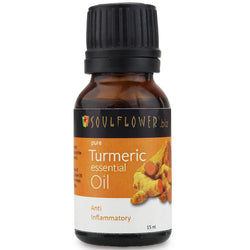 Soulflower Essential Oil Turmeric - 15 ml
