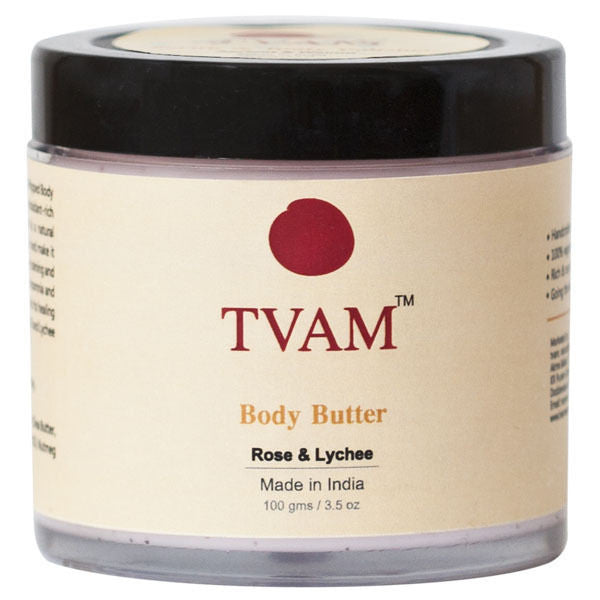 Tvam Body Butter Rose Litchi 100 Gm