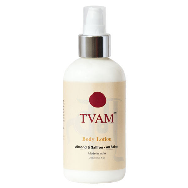 Tvam Body Lotion - Almond & Saffron