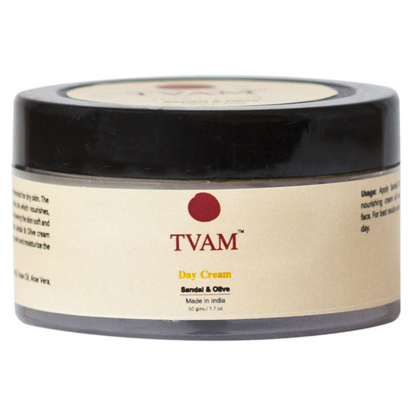 Tvam Day Cream - Sandal And Olive - 50 Gms