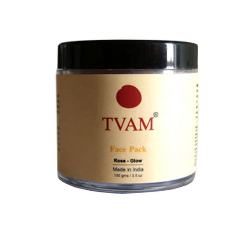 TVAM Face Pack - Rose - 100 Gms