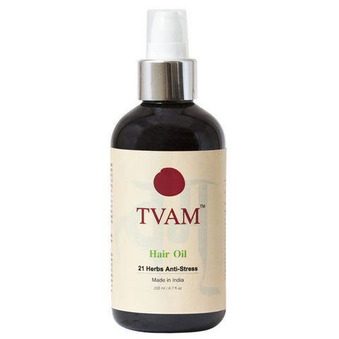 Tvam Hair Oil - 21 Herbs Anti Stress - 200 Ml