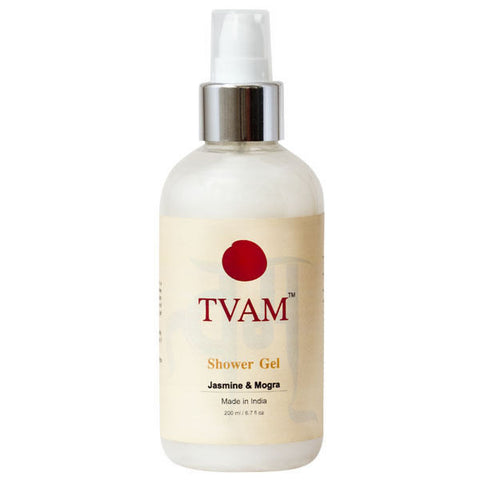 Tvam Shower Gel - Jasmine And Mogra - 200 ml