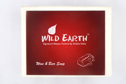 Wild Earth Drunken Wine & Beer Soap 100Gms