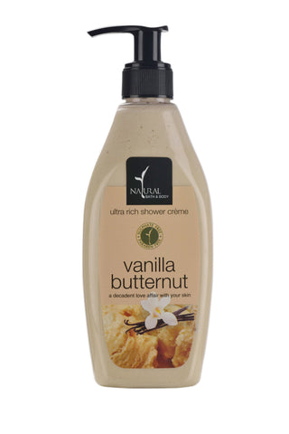 Natural Bath and Body Vanilla Butternut Ultra Rich Shower Creme 250 ml