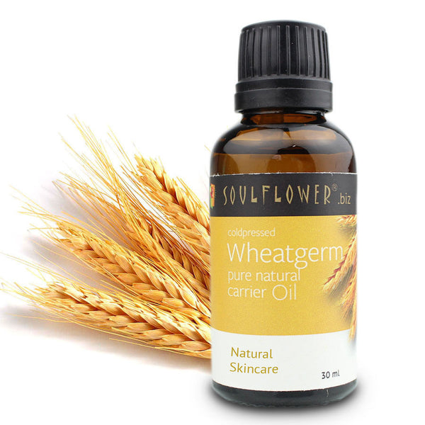 Soulflower Coldpressed Wheatgerm Carrier Oil