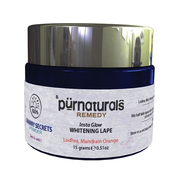Pure Naturals - Insta Glow Whitening Lape-15-grams