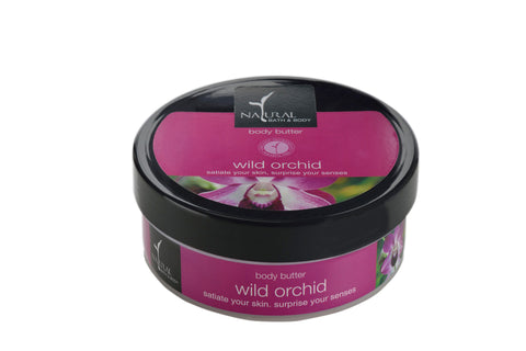 Natural Bath and Body Wild Orchid Body Butter 200 ml
