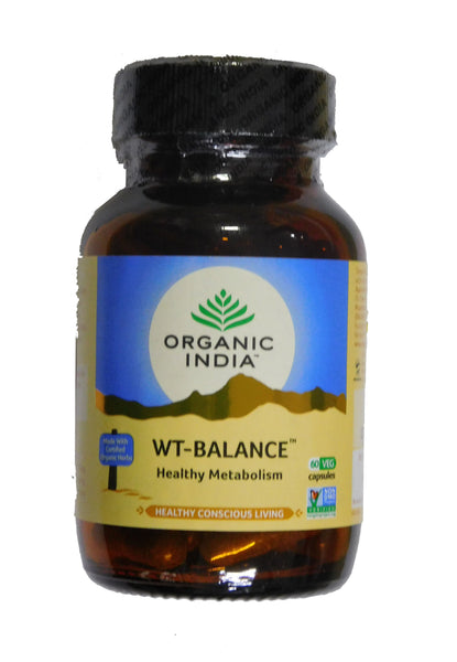 Organic India Weight Balance 60 Capsules for Weight Loss & Fatigue Reduction