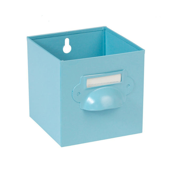 Storage . Metal Drawer - Blue