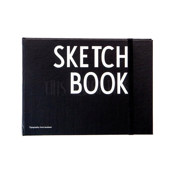 Sketch Book . Monochrome . Typography