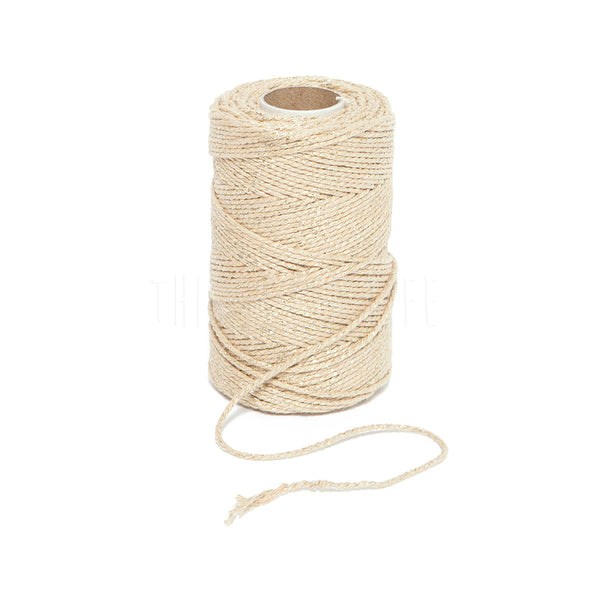 Bakers Twine . Gold Sparkle