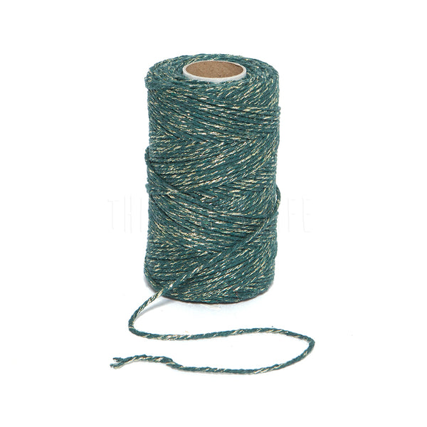 Bakers Twine . Moss Sparkle