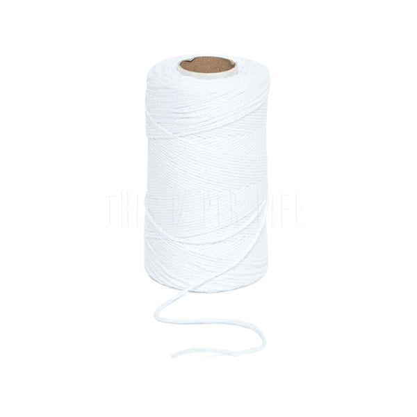 Bakers Twine . White