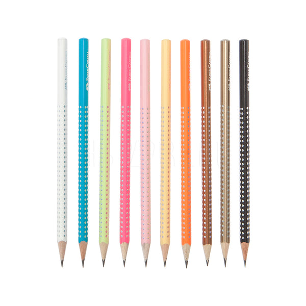 Pencil . Triangular - Sparkle / Various Colours