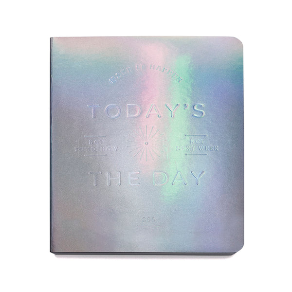 Pocket Planner . Holographic . Today's The Day
