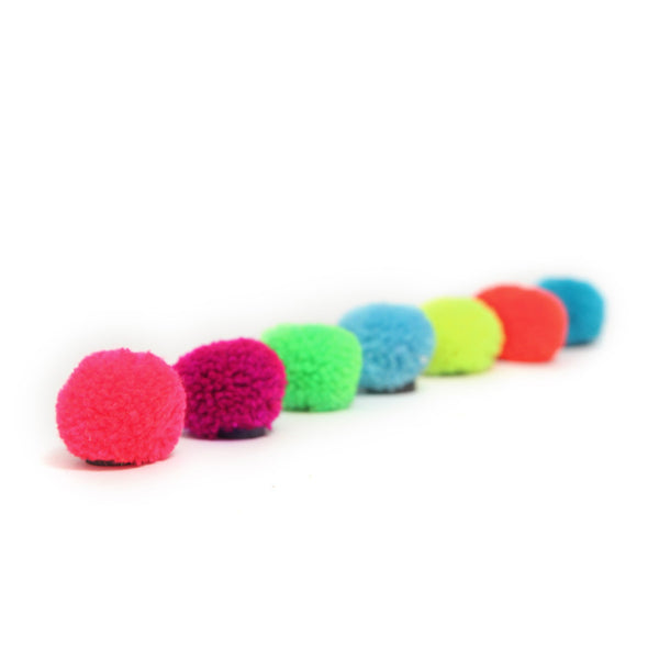 Magnets . PomPom / Multicoloured