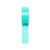 Washi Tape . Triangles . Mint