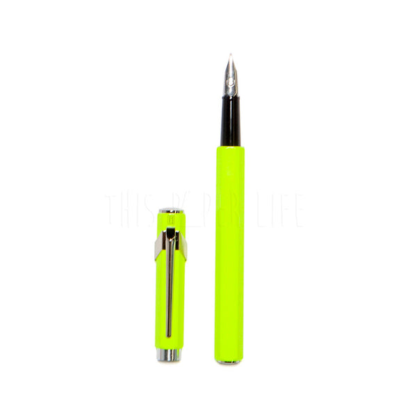 Fountain Pen . 849 + Box / Yellow Fluo