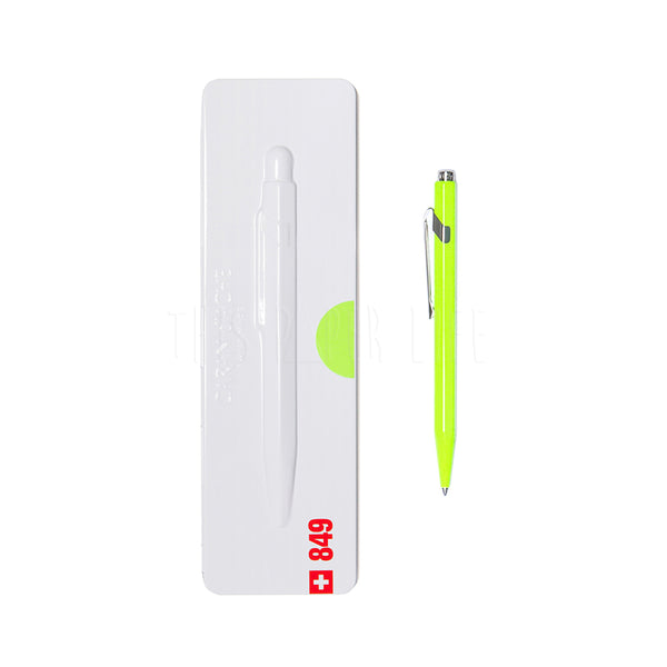 Ball Point Pen . 849 + Presentation Case / Fluo Yellow