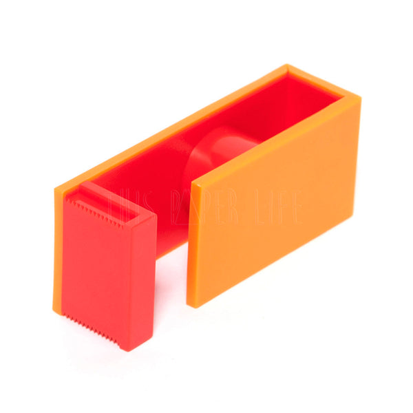 Washi Tape Cutter . 2 Tone - Orange / Red
