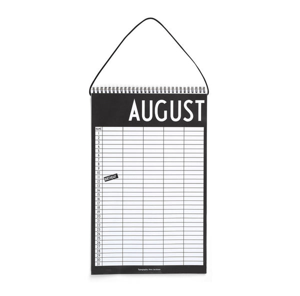 Hanging Monthly Planner