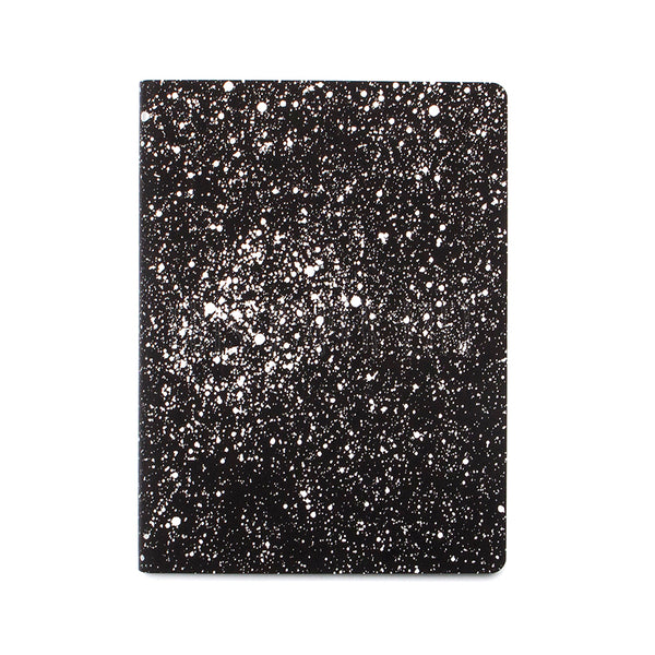 Notebook . Large Dotted Journal / Graphic Milky Way