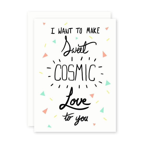 Card . Cosmic Love