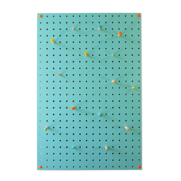 Pegboard . Medium - Light Blue
