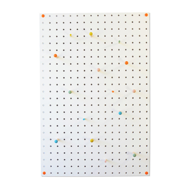 Pegboard . Medium - White