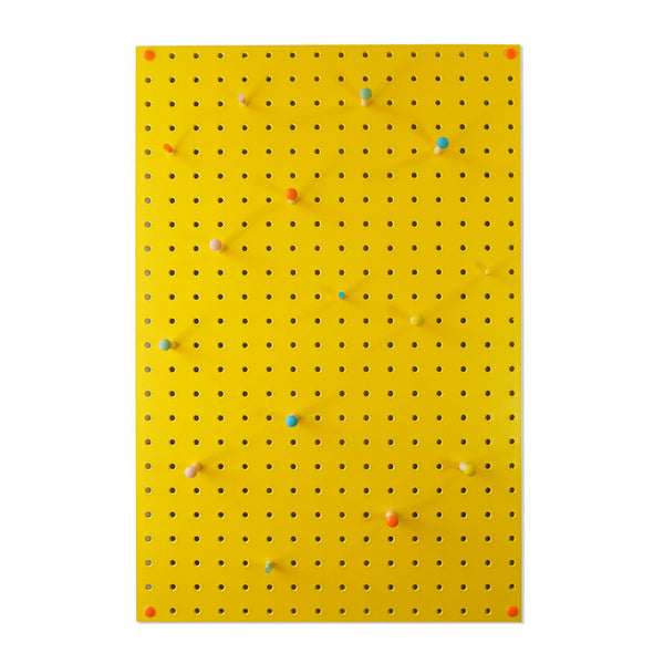 Pegboard . Medium - Yellow