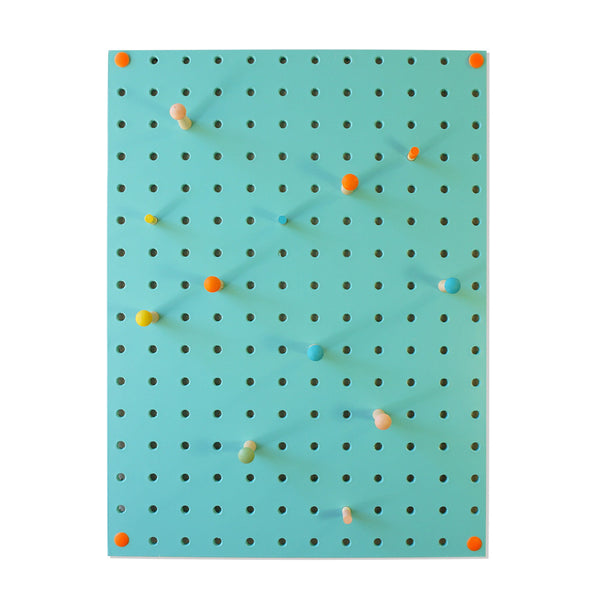 Pegboard . Small - Light Blue