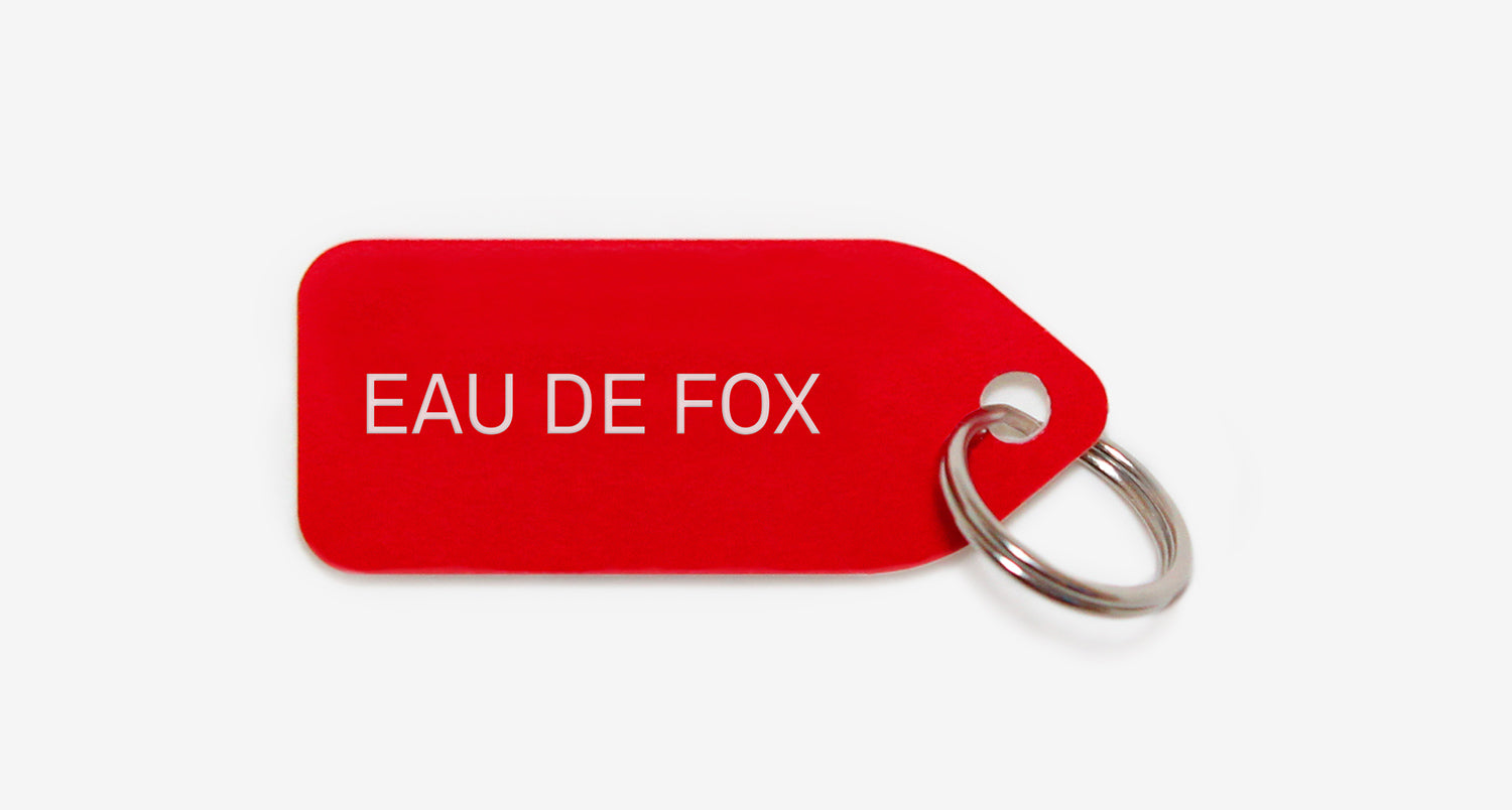 Eau de fox | dog tag | collar charm | Growlees