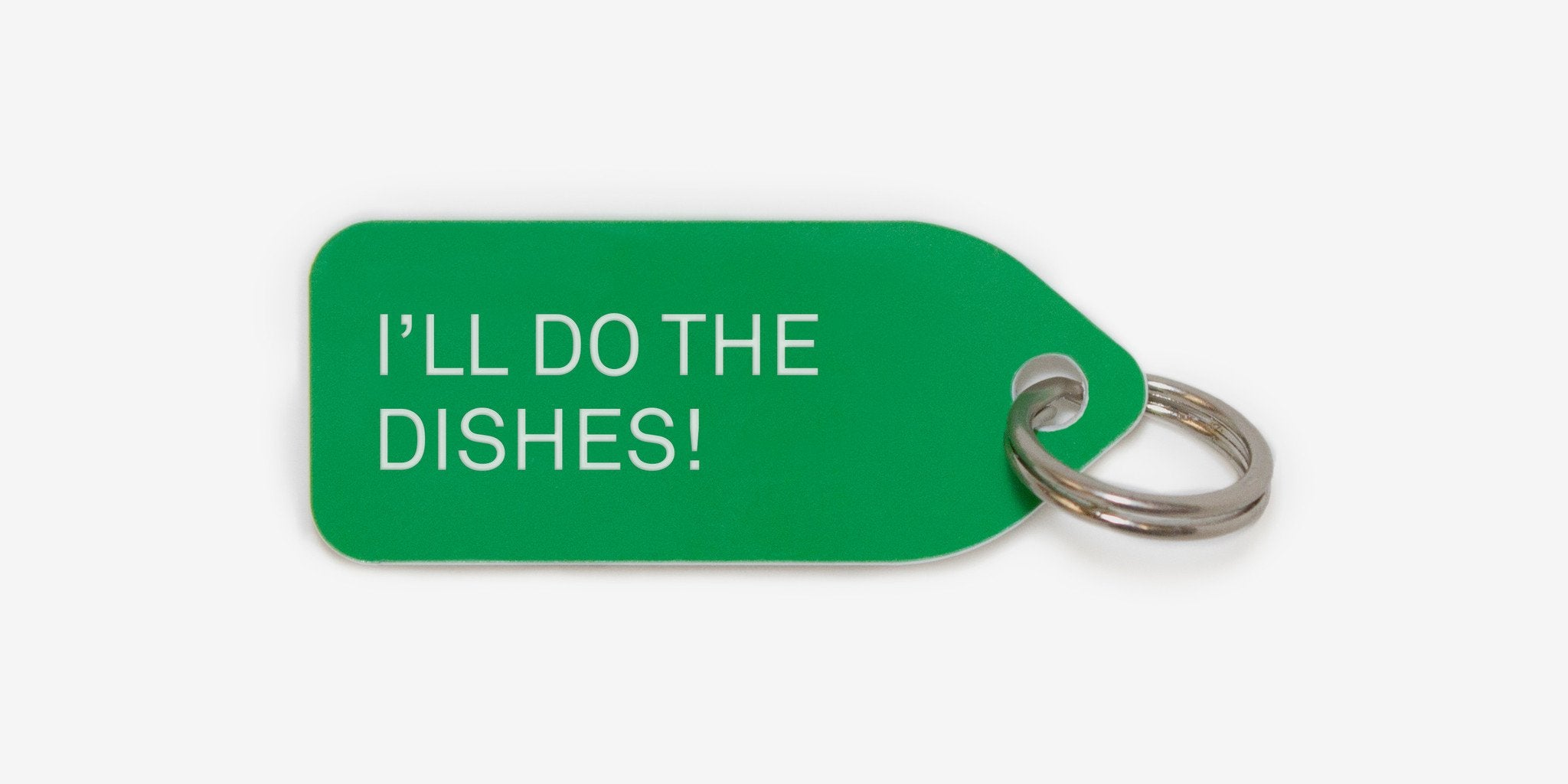 Dog tag - I'll do the dishes