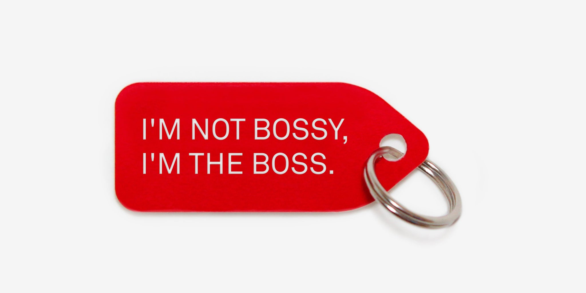 I'm not bossy, I'm the boss | dog tag | collar charm | by Growlees