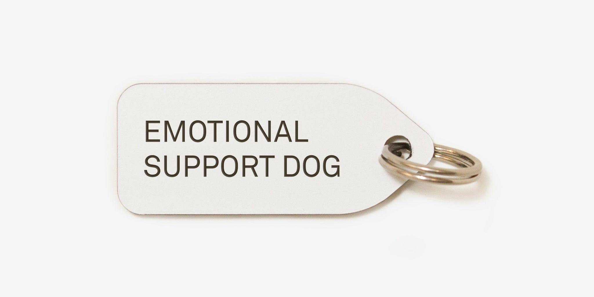 Emotional support dog | dog tag | collar charm | Growlees