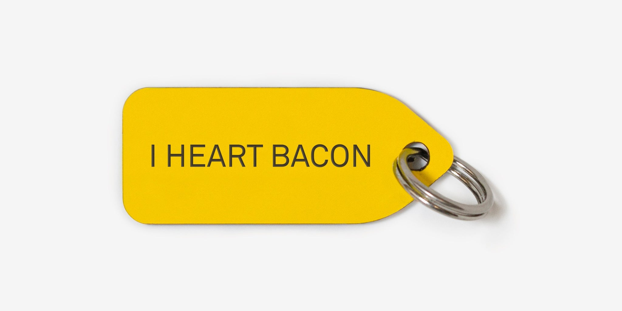 I heart bacon | dog tag | collar charm | Growlees