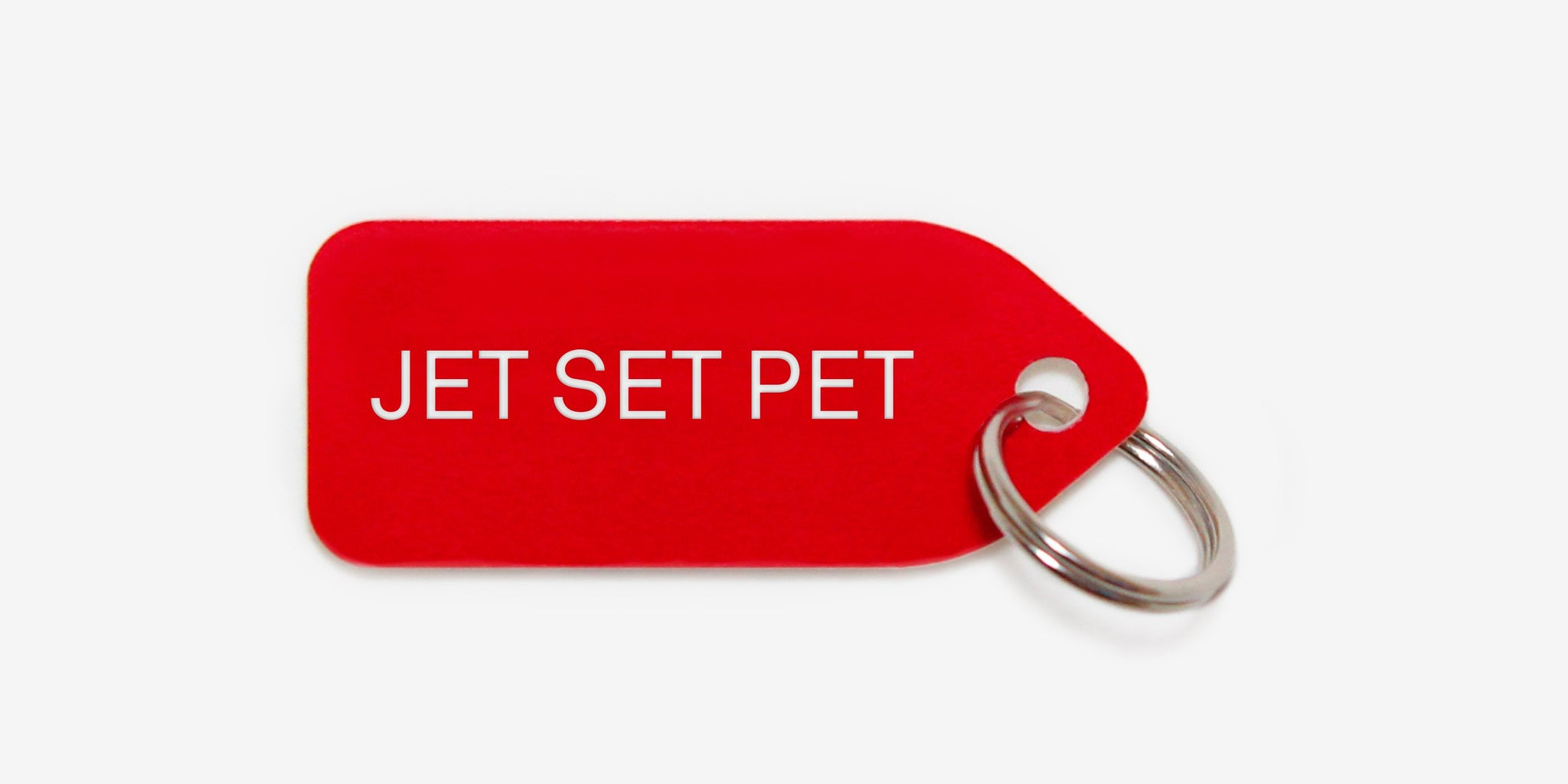 Jet Set | dog tag | collar charm | by Growlees