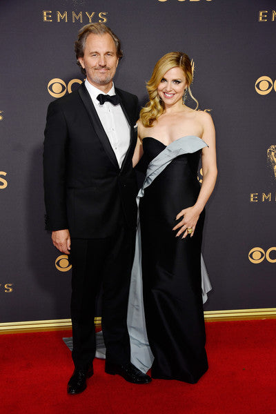 Peter Thum needed a tux ASAP to accompany his beautiful wife, Cara Buono, to the Emmys. We did our small part.