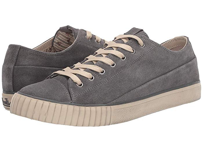 John Varvatos Vulcanized Washed Suede Low Top