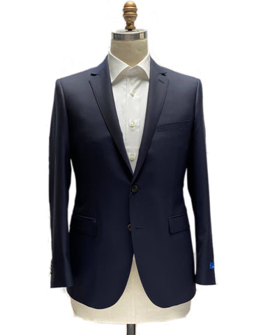 Betenly Slim Fit Navy Classic Blazer