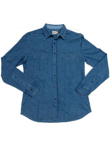 Knit Seasons Shirt Medium Indigo Wash