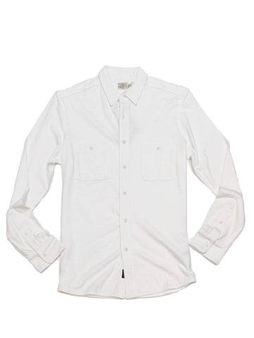Knit Seasons Shirt White