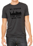 "Rothmans Exclusive ""We Stayed"" Shirt Charcoal"