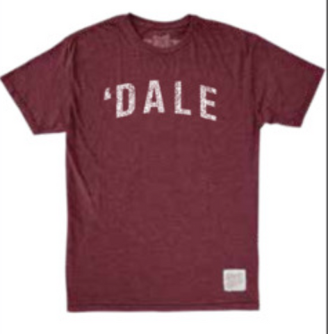 Men's 'Dale T-shirt Burgundy