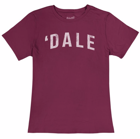 Women's 'Dale T-shirt Burgundy