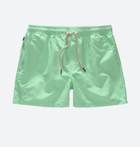 Solid Mint Swim Short