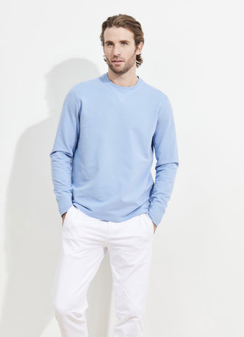 French Terry Sweatshirt Light Blue