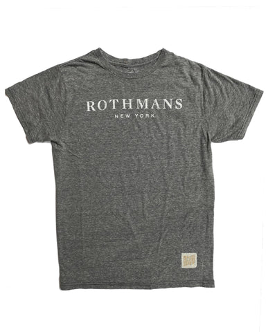 Rothmans Men's T-Shirt - Light Grey