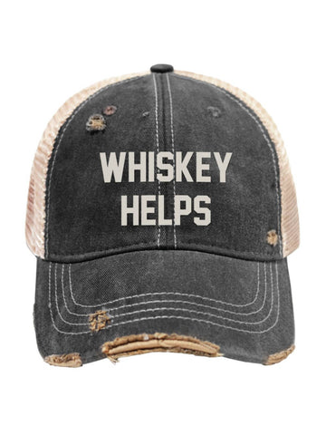Whiskey Helps Hat